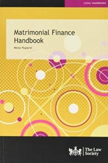 Image for Matrimonial finance handbook