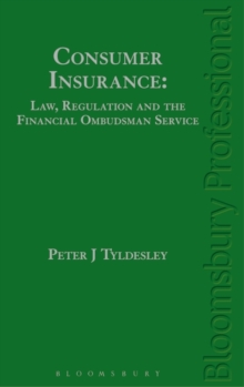 Image for Consumer insurance  : law, regulation and the financial ombudsman service