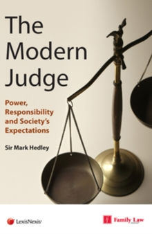 Image for Modern judge  : power, responsibility and society's expectations