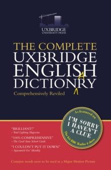 Image for The complete Uxbridge English dictionary
