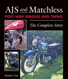 Image for AJS and Matchless post-war singles and twins  : the complete story
