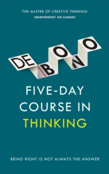 Image for Five-day course in thinking