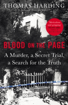 Image for Blood on the page  : a murder, a secret trial and a search for the truth