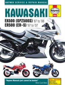 Image for Kawasaki EX500 (GPZ500S) & ER500 (ER-5) service and repair manual