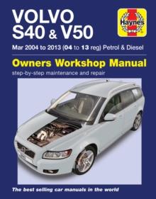 Image for Volvo S40 & V50 Petrol & Diesel (Mar 04 -03) 04 to 13