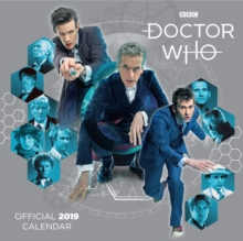 Image for Doctor Who Classic Edition Official 2019 Calendar - Square Wall Calendar Format