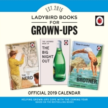 Image for Ladybird Books For Grown-Ups Official 2019 Calendar - Square Wall Calendar Format
