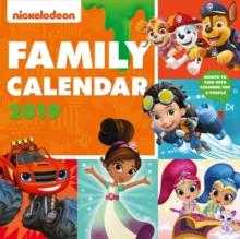 Image for Nickelodeon Family Organiser Official 2019 Calendar - Square Wall Calendar Format