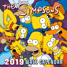 Image for The Simpsons Official 2019 Calendar - Square Wall Calendar Format