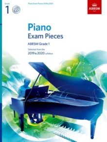Image for Piano Exam Pieces 2019 and 2020 & CD - Grade 1