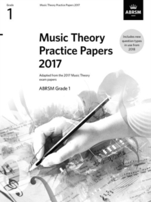 Image for Music Theory Practice Papers 2017, ABRSM Grade 1