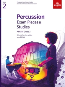 Image for Percussion Exam Pieces & Studies Grade 2 : From 2020