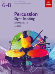Image for Percussion Sight-Reading, ABRSM Grades 6-8 : from 2020