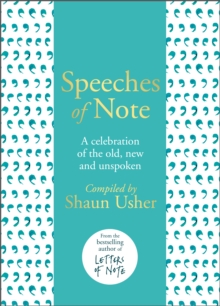 Image for Speeches of Note