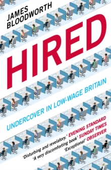 Image for Hired  : six months undercover in low-wage Britain