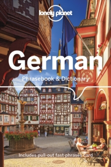 Image for Lonely planet German phrasebook & dictionary