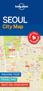 Image for Lonely Planet Seoul City Map