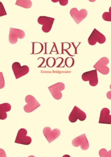 Image for Emma Bridgewater Hearts A6 Diary 2020