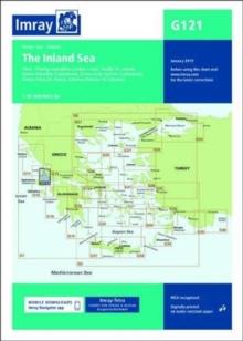 Image for Imray Chart G121 : South Ionian Islands Nisos Levkas to Nisos Zakinthos