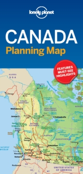 Image for Lonely Planet Canada Planning Map