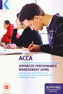 Image for ADVANCED PERFORMANCE MANAGEMENT (APM) - EXAM KIT