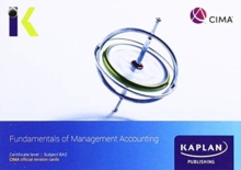 Image for BA2 FUNDAMENTALS OF MANAGEMENT ACCOUNTING - REVISION CARDS