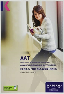 Image for ETHICS FOR ACCOUNTANTS - STUDY TEXT