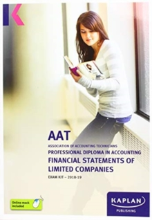 Image for FINANCIAL STATEMENTS OF LIMITED COMPANIES - EXAM KIT