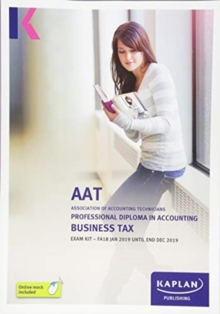 Image for BUSINESS TAX (FA18) - EXAM KIT