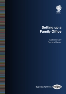 Image for Setting Up a Family Office