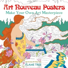 Image for Art Nouveau Posters (Art Colouring Book) : Make Your Own Art Masterpiece