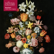 Image for Adult Jigsaw Puzzle National Gallery Bosschaert the Elder: A Still Life of Flowers : 1000-piece Jigsaw Puzzles