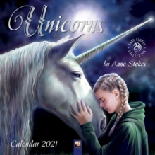 Image for Unicorns by Anne Stokes Wall Calendar 2021 (Art Calendar)