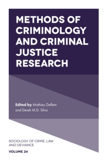 Image for Methods of criminology and criminal justice research