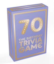 Image for 70 : The Birthday Trivia Game