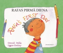 Image for Rafa's First Day Latvian and English
