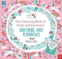Image for National Trust: The Colouring Book of Cards and Envelopes - Unicorns and Rainbows