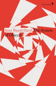 Image for The System of Objects