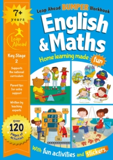 Image for Leap Ahead Bumper Workbook: English and Maths 7+