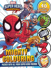 Image for Marvel - Super Hero Adventures: Mighty Colouring
