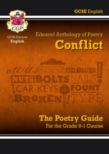 Image for New GCSE English Literature Edexcel Poetry Guide: Conflict Anthology - for the Grade 9-1 Course