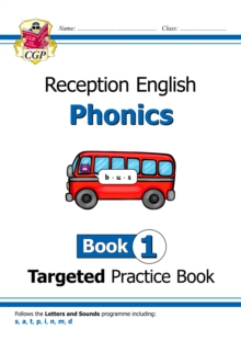 Image for English Targeted Practice Book: Phonics - Reception Book 1