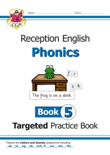 Image for English Targeted Practice Book: Phonics - Reception Book 5