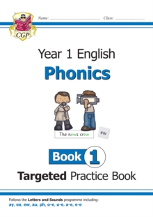 Image for KS1 English Targeted Practice Book: Phonics - Year 1 Book 1