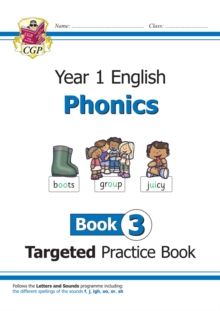 Image for KS1 English Targeted Practice Book: Phonics - Year 1 Book 3
