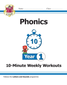 Image for New KS1 English 10-Minute Weekly Workouts: Phonics - Year 1
