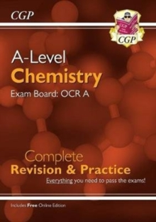 Image for A-Level Chemistry: OCR A Year 1 & 2 Complete Revision & Practice with Online Edition