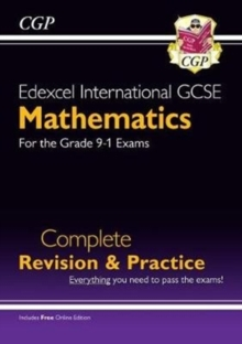 Image for Edexcel International GCSE Maths Complete Revision & Practice - Grade 9-1 (with Online Edition)