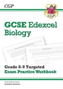 Image for GCSE Biology Edexcel Grade 8-9 Targeted Exam Practice Workbook (includes Answers)
