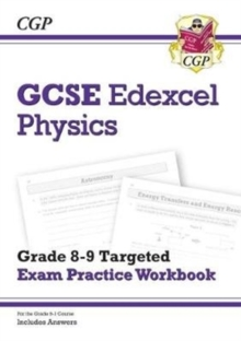 Image for GCSE Physics Edexcel Grade 8-9 Targeted Exam Practice Workbook (includes Answers)